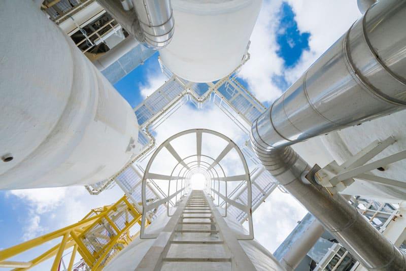 Gas Energie Verkauf Pipeline