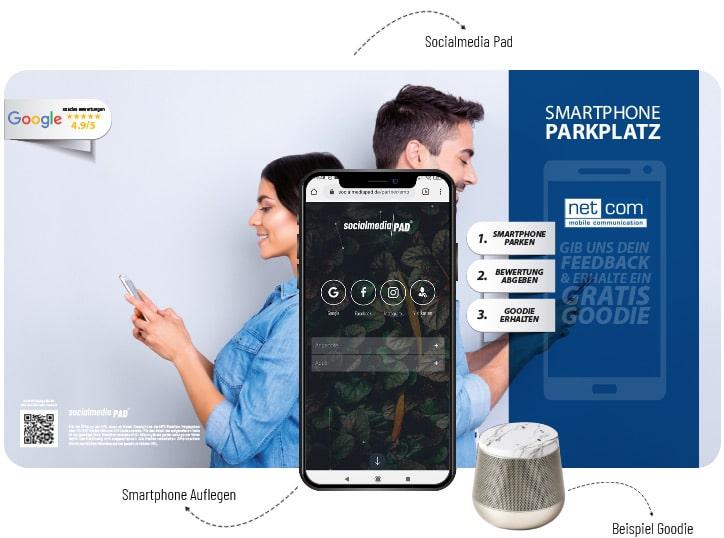 Socialmedia Pad netcom Design netcom GmbH