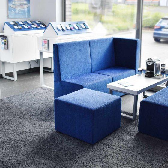 Möbelkonzept Sitzelemente groß