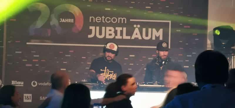 netcom Jubiläum DJ