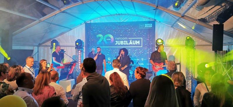 netcom Jubiläum Feier